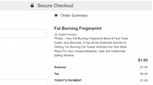 fat burning fingerprint discount price 300x166 - GET It Right Now for ONLY $1 Trial