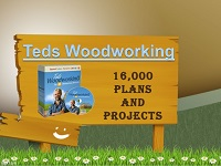 tedswoodworking logo - $30 Discount TedsWoodworking 16,000 Plans Plus Bonuses for ONLY$37.00