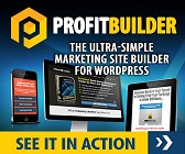 wpprofitbuilder logo - Get ProfitBuilder Academy for JUST $297.00